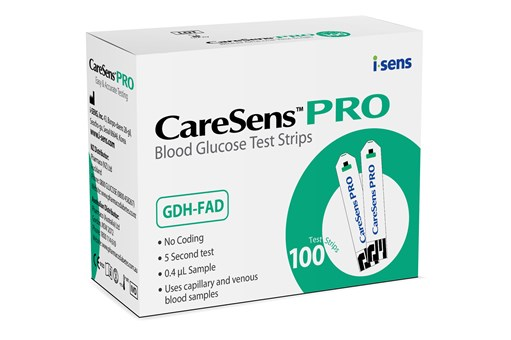 CareSens PRO test strips